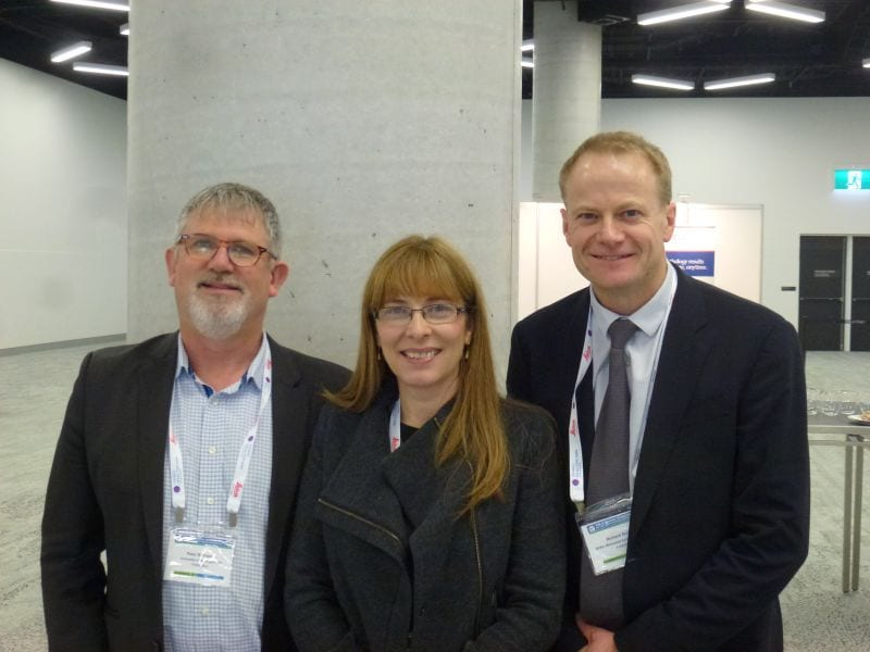 Peter Bethwaite, Jane Dahlstrom & Richard Scolyer