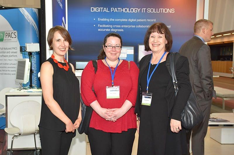 Karina Alvasian, Tamara Welham, Kathy Robinson (RCPA)