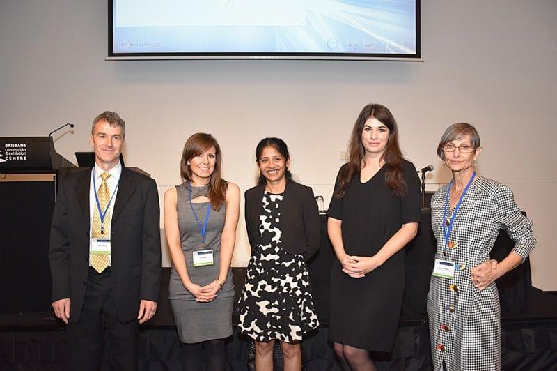 Paediatric pathologists: Mike Watson, Laura Mogie, Mitali Fadia, Nicky Wallis and Susan Arbuckle