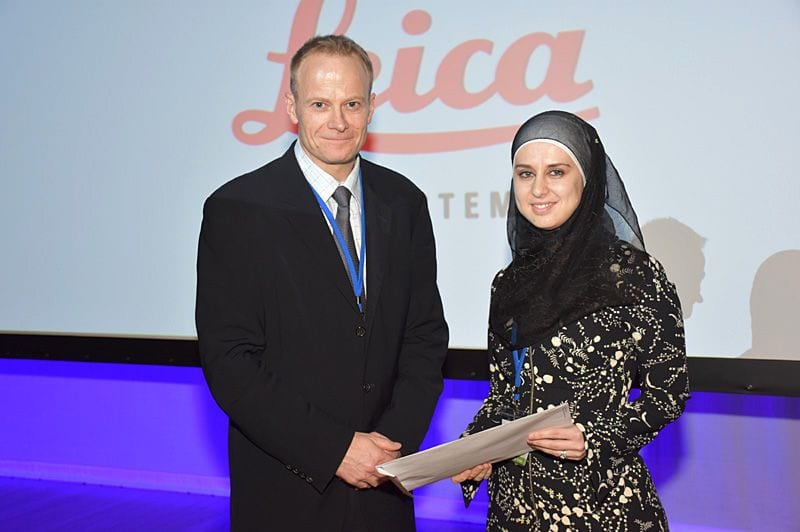 Poster prize - 1st Prize for Registrar Category - President Richard Scolyer to Fedaa Najdawi