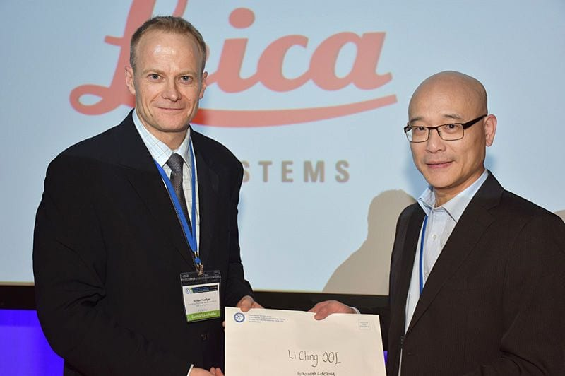 Poster prize Soon Lee for Lee Ching Ooi