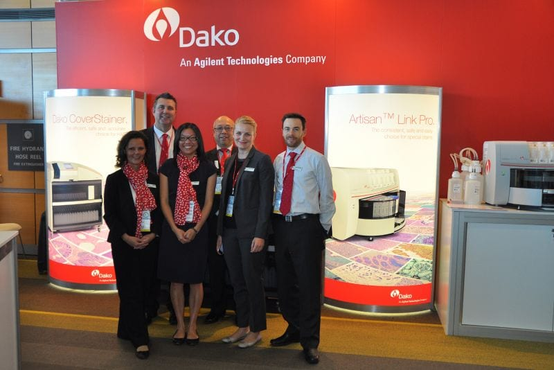 Dako Stand: Jeremy Tyson, Lawrence Young, Rebecca Brandes, Russell McInnes
