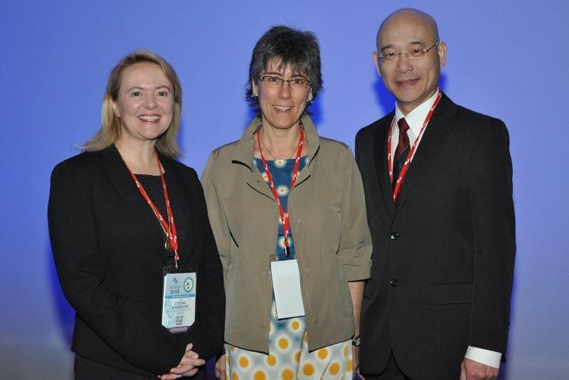 Gynaepathology: Lyndal Anderson (Convenor, Australia), Esther Oliva (Invited Speaker, Massachusetts General Hospital, Boston, USA), Soon Lee (Pres of IAP Aust Div)