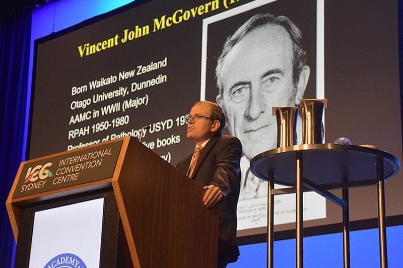Vincent McGovern Lecture by Anthony Gill