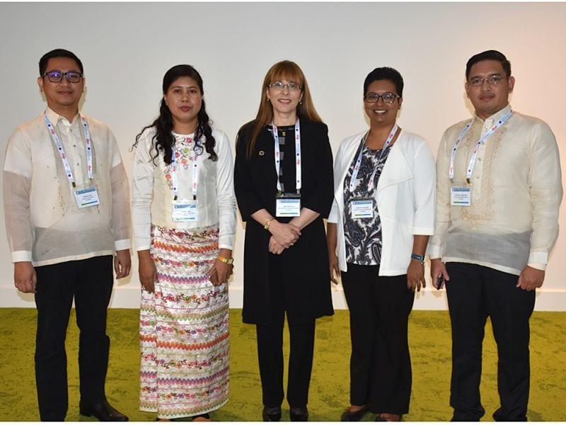 Randell Arias, Swe Zin Myint, Jane Dahlstrom, Suhashini Ganapaty & Al