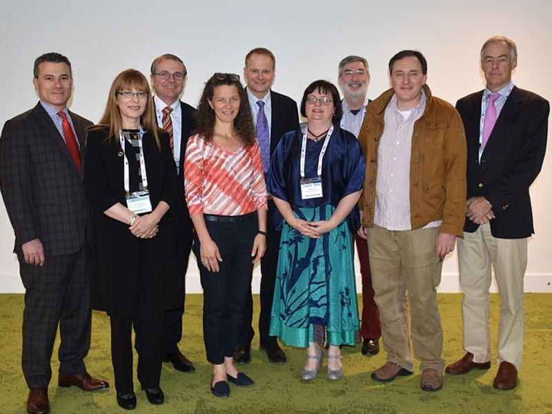 Front: Jane Dahlstrom, Marisa Nucci, Fiona Maclean, Alexander Lazar,