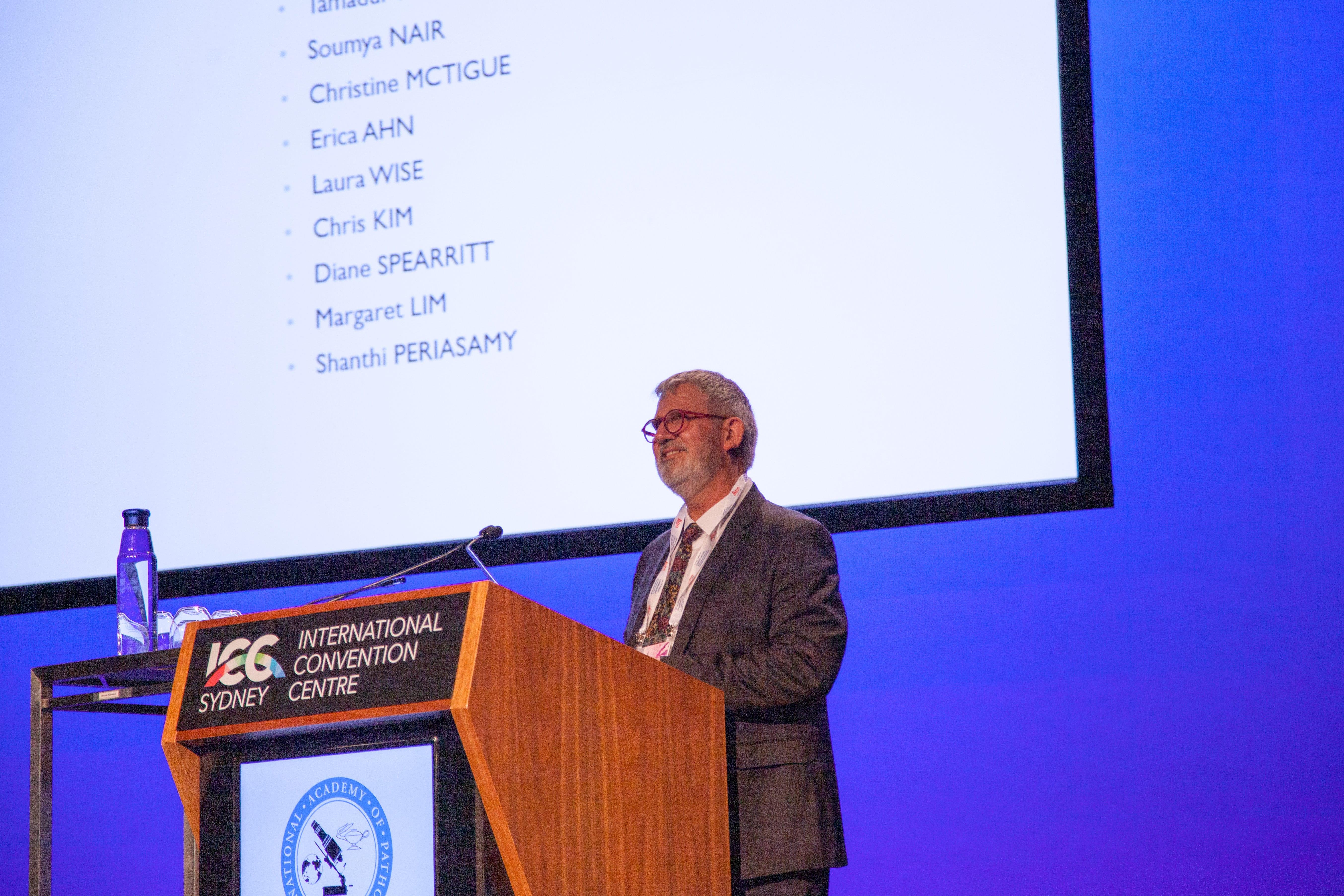 IAP President Peter Bethwaite