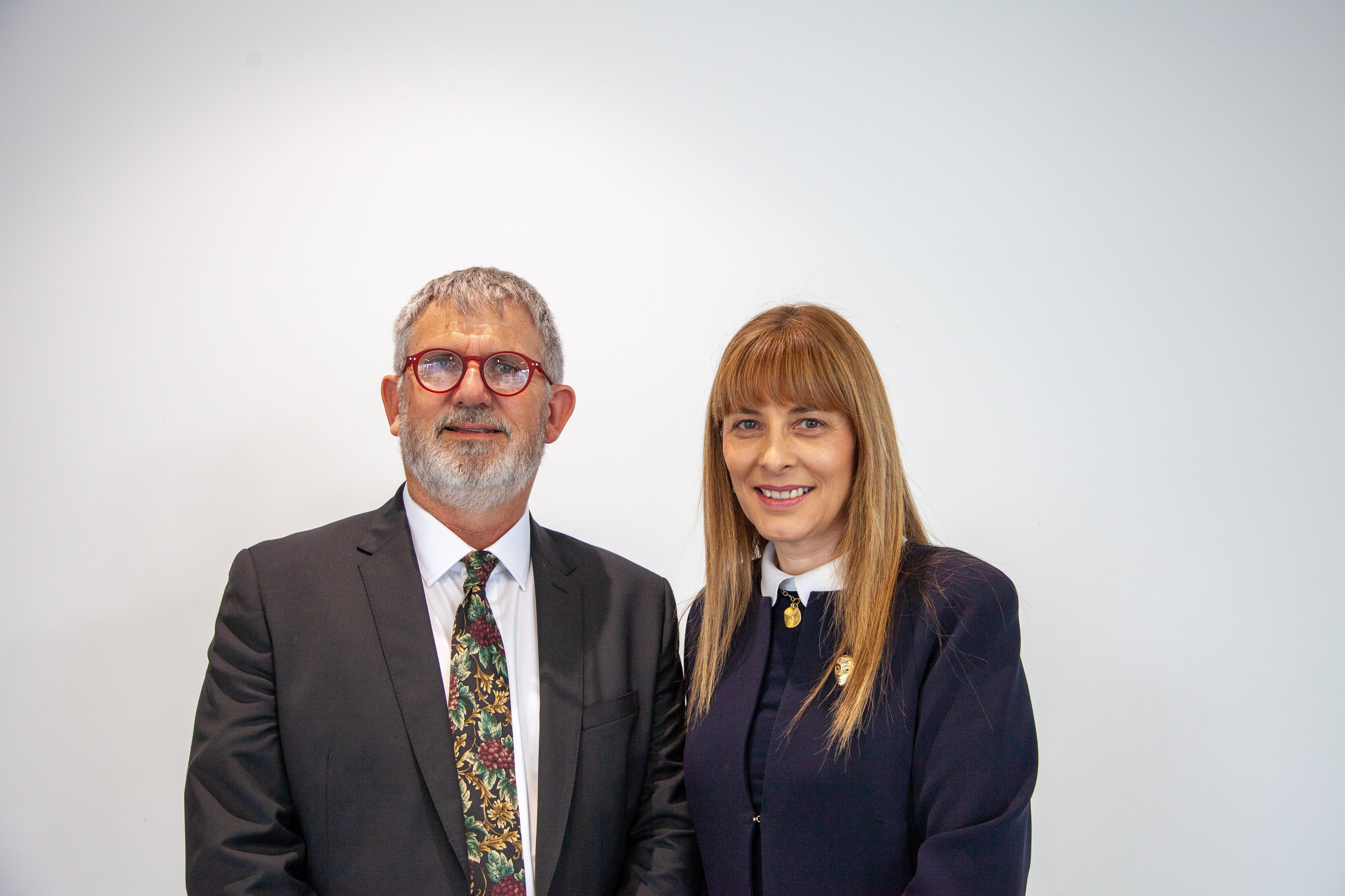 Peter Bethwaite & Jane Dahlstrom